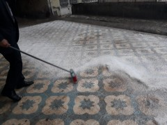 Dolu ve sağanak Diyarbakır'da hayatı felç etti