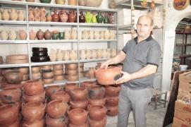 Diyarbakır'da Ramazan ayında çömlek satışına yoğun ilgi