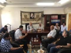 DTSO Başkanı Kaya sanayi sitesi esnafıyla bir araya geldi