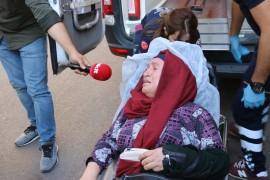 HDP'liler ile oturma eylemi yapan aileler arasında gerginlik
